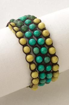 love the wrap on this necklace / bracelet