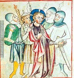 ONB Cod.s.n. 2612 Speculum Humanae Salvationis, Folio 048v, 1330-1340, Vienna, Austria, Österreichische Nationalbibliothek