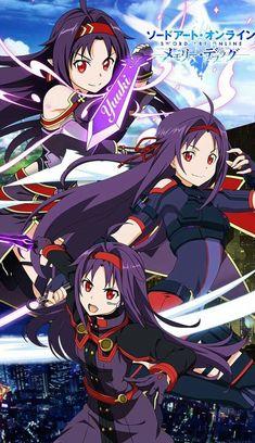 Anime Girl Dress, Anime Art Girl, Arte Online, Online Art, Sword Art Online Yuuki, Sword Art Online Wallpaper, Online Anime, Female Anime, Animes Wallpapers