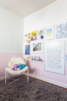 Kid's gallery wall