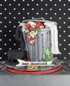 divorced cake