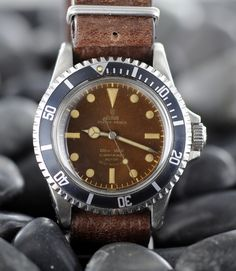 Tudor 7598 with gilt dial