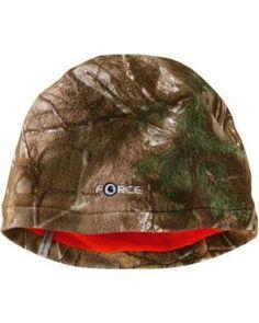 Carhartt Mens Force Swifton Camo Reversible Fleece Beanie Hat Mossy Oak  Break-UP 7a5289ed1d04