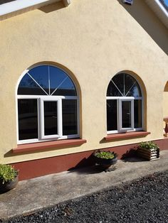 uPVC Windows - Get a Free Online Quotation - View Latest Promotions Arch Windows, Upvc Windows, Composite Door, House Extensions, Townhouse, Bespoke, Quote, Outdoor Decor, Beautiful