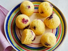 Get Instant Pot Blueberry Corn Muffin Bites Recipe from Food Network Food Network Recipes, Cooking Recipes, Kitchen Recipes, Bread Recipes, Yummy Recipes, Instant Pot, Reuben Recipe, Corn Muffins, Muffin Mix