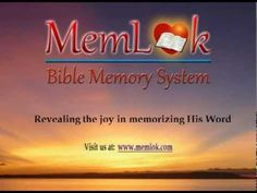 CLICK MEMLOK.COM MemLok Bible Memory System Get them all only $29.95  Review on iPad, iPhone, iTouch, Android, KIndle Fire, Mac or Blackberry memlok.com Simple and fun. Visual cue to start Scripture verse. Prints cards or coloring pages. #MemLok.com #biblememory #scripturememory