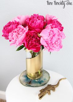 diy painted vase