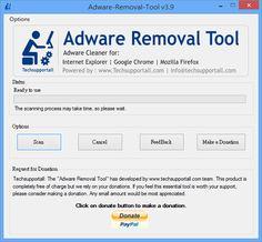 Adware Removal Tool 瀏覽器廣告、首頁綁架移除工具(支援 IE、Google Chrome、Firefox)