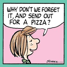 Wise words from Peppermint Patty
