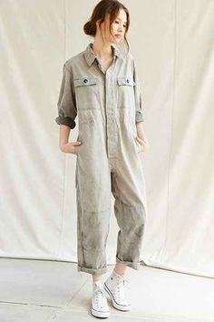 Urban Renewal Vintage Workwear Coverall - Urban Outfitters