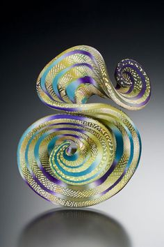 Cool Jewel RUFFLE Brooch, 20093.5h x 2.5w x 1.25d inches$350©2009 Elise Winters