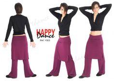 Tot Dansa Menorca:  Pantalón yoga Y003PANTALON YOGA ANCHO CON FALDA ...