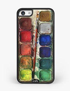 Watercolor Set iPhone 5C Case – crafic