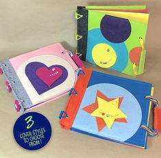 The best First Birthday present for a 1 year old! This quiet activity book comes complete with 6 fun and educational activities, designed to help little minds and fingers master new skills. This QUIET BOOK STARTER SET for BABY Includes: One complete Quiet Book with a Personalized Cover and