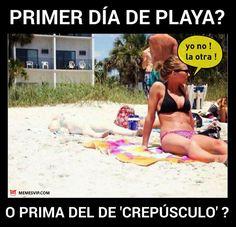 Meme vampira playera #meme #memeenespañol #español #vampiro #crepusculo #playa #chiste