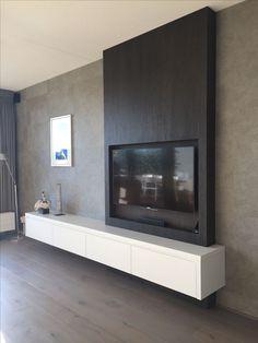 (notitle) – Regina Stimmelmayer – - Home Page Modern Tv Wall, Living Room Modern, Home Living Room, Living Room Decor, Tv Unit Furniture, Living Room Furniture, White Furniture, Office Furniture, Living Room Tv Unit Designs
