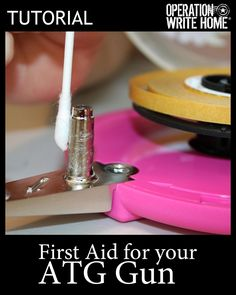 tutorial - First aid for your ATG
