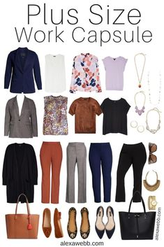 Capsule Wardrobe Work, Capsule Outfits, Fall Outfits, Work Outfits, Plus Size Fashion Blog, Plus Size Fashion For Women, Curvy Fashion, Plus Size Workwear, Pretty Outfits