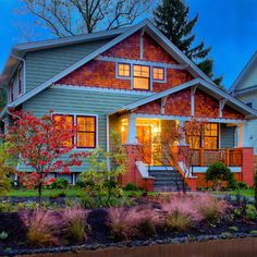 Bungalow Style Home Exterior... #Bungalow