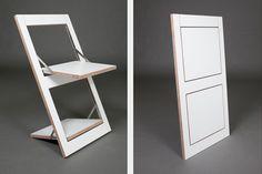 Folding Chair Fläpps – White