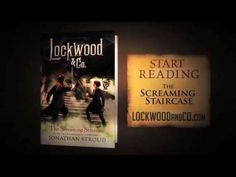 LOCKWOOD & CO. The Screaming Staircase by Jonathan Stroud. A sinister Problem has occurred in London: all nature of ghosts, haunts, spirits, and specters are appearing throughout the city, and they aren't exactly friendly. Only young people have the psychic abilities required to see-and eradicate-these supernatural foes. .  Cafe Book 2014-2015. Place a hold on it at Librarypoint.bibliocommons.com