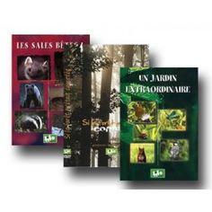 3 DVD Sales bêtes+ Si la forêt m'était comptée+Un jardin extraordinaire - FIFO-DISTRIBUTION