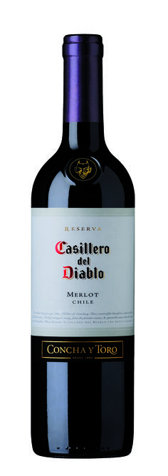In its Merlot, Casillero del Diablo captured all the finesse of a subtle wine, of low astringency, with blackberry, strawberries and raspberries, together with chocolate, vanilla and cassis notes.  http://www.conchaytoro.com/descubre-vinos/vinos-premium/casillero-del-diablo-merlot-en/