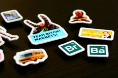 yeah bitch! magnets! DIY Breaking Bad Magnet Set