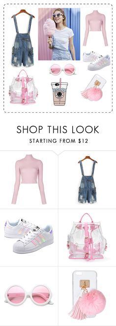 """lol"" by explorer-14579595798 on Polyvore featuring мода, A.L.C., adidas Originals, ZeroUV и Ashlyn'd"