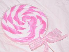 MY PINK CLOUD ☁ Swirly Pink Lollipop