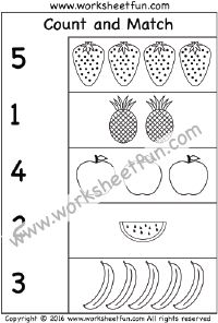 Worksheets Count And Match Numbers 1-20 count and match numbers 1 20 one worksheet kindergarten 10 worksheet