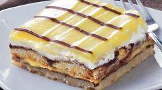 Chocolate-Vanilla Layered Bars