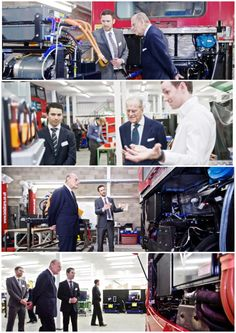 21st February 2017: The Duke of Edinburgh visits VantagePower, who are working to cut emissions and increase efficiency in city buses