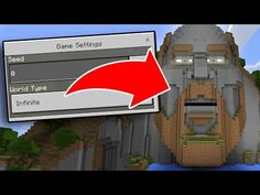 The Most CREEPY SEED in Minecraft Pocket Edition!!! - YouTube