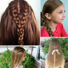 5 Braids to Inspire a New Back-to-School 'Do #hairstyles #hair #hairstylesideas