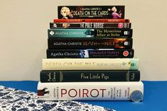 Five Little Pigs, Agatha Christie's Poirot, Death On The Nile, Pale Horse, Affair, Mystery, Cards, Noel, Maps