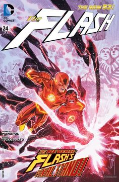 Dc Comics, Comic Book Covers, Comic Books Art, Book Art, The Flash New 52, Flash Wallpaper, Reverse Flash, Dc Rebirth, Best Superhero