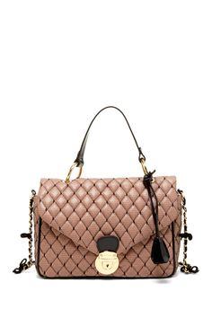 Quilted Lace Crossbody