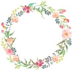 Drawing circular wreath Wreath, Round, Watercolor PNG Image and Clipart Watercolor Flower Wreath, Floral Watercolor, Watercolor Paintings, Frame Floral, Flower Frame, Corona Floral, Deco Floral, Floral Border, Hand Lettering