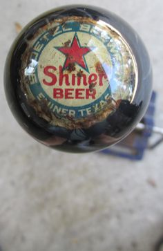 HouseOspeed - Hot Rod Shift Knob - Vintage Shiner Beer Spoetzl Brewery Cap Shift Knob, $65.00 (http://www.hotrodshiftknob.com/vintage-shiner-beer-spoetzl-brewery-cap-shift-knob/)