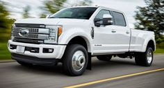 Ford Updates 2017 F-Serie Super Duty mit 48 Gallonen Tank Ford Ford F-Series New Cars