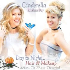 Get a Modern Day Cinderella Look | Hair & Makeup Tutorial for my Cinderella prom idea :)