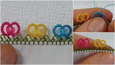 Crochet Lace Edging, Tatting, Crochet Earrings, Make It Yourself, Model, Jewelry, Tejidos, Needlepoint, Headscarves