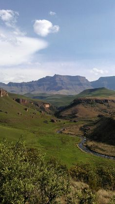 Giants Castle, Drakensberg National Park, South Africa.