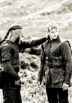 Father and Son - Ragnar and Bjorn