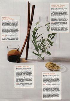 Natural Remedies: Fatigue, Sadness, Cough, Sinusitis