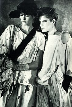 Japanese Fashion Designers: The Work and Influence of Issey Miyake, Yohji Yamamoto and Rei Kawakubo by Bonnie English Berg Publishers Soon to delve into research of my own in the area… Rei Kawakubo, New Romantics, Central Saint Martins, Peter Lindbergh, Turning Japanese, Afraid Of The Dark, Comme Des Garcons, Deconstruction, Photo Colour