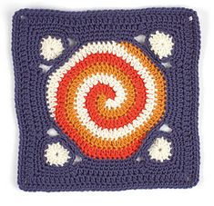 Circles Around Square: free pattern