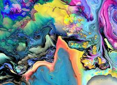 ImageFind images and videos about art, colors and color on We Heart It - the app to get lost in what you love. Ouvrages D'art, Art Et Illustration, Art Moderne, Art Abstrait, Art Design, Graphic Design, Psychedelic Art, Modern Art, Abstract Art