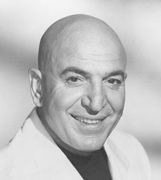 Telly Savalas ~ saw him in Wallich's Music City with his family in the 1960s.  It was the music store on Sunset Blvd where you could go in to a booth and listen to a record...really neat.  We were waiting in the same check-out line.